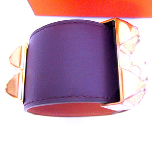 Hermes Ultraviolet Collier de Chien Gold Hardware