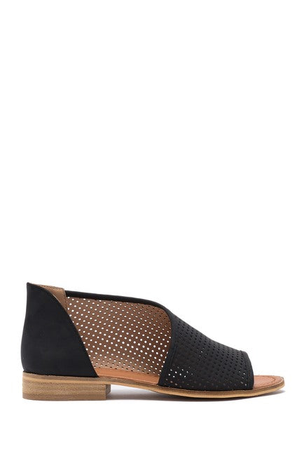 Replay Perforated d'Orsay Angled Sandal