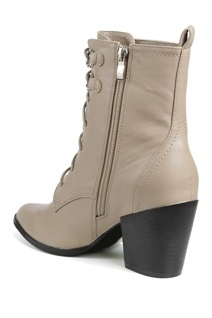 Irma Lace-Up Mid Boot