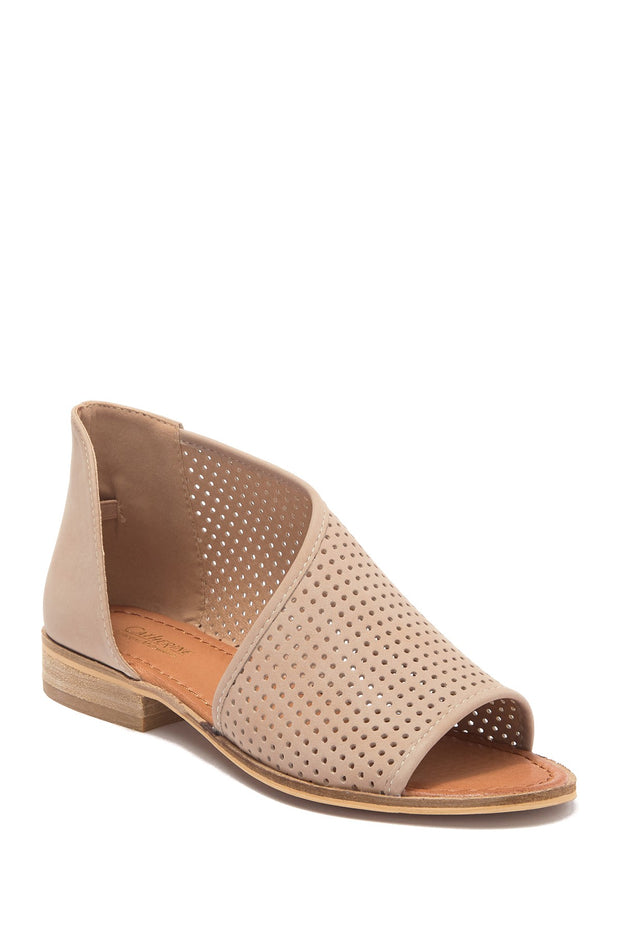 Replay - Catherine Catherine Malandrino  Perforated d'Orsay Angled Sandal
