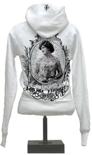 Load image into Gallery viewer, Hoody - Vintage Chick - White