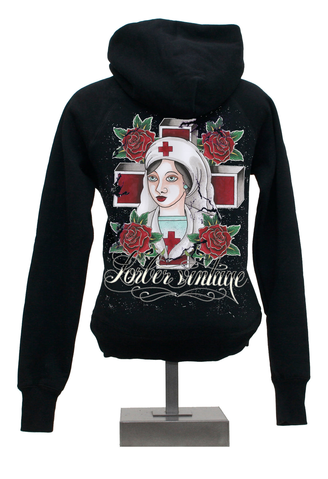 Hoody - Nurse - Black