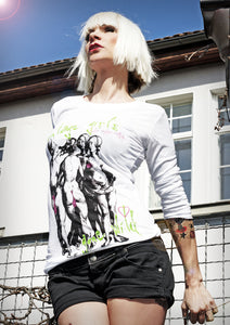 Longsleeve - Vintage Girl's Gone Wild - Green