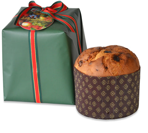 MILANESE PANETTONE (Green Wrapped)