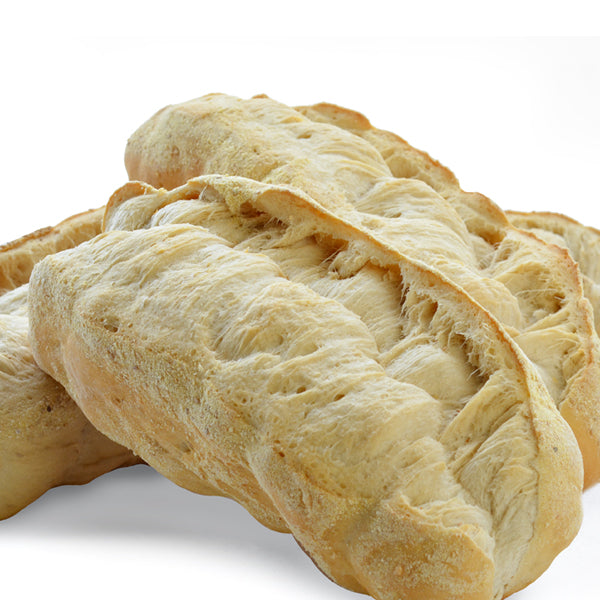 LARGE BAKER'S HELPER ITALIAN BREAD (4 - 1 lb. 11 oz. LARGE PAR BAKED LOAVES)