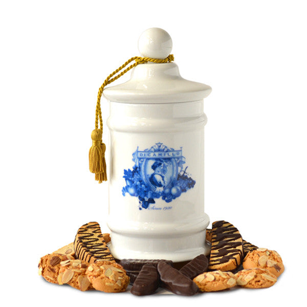 APOTHECARY BISCOTTI JAR