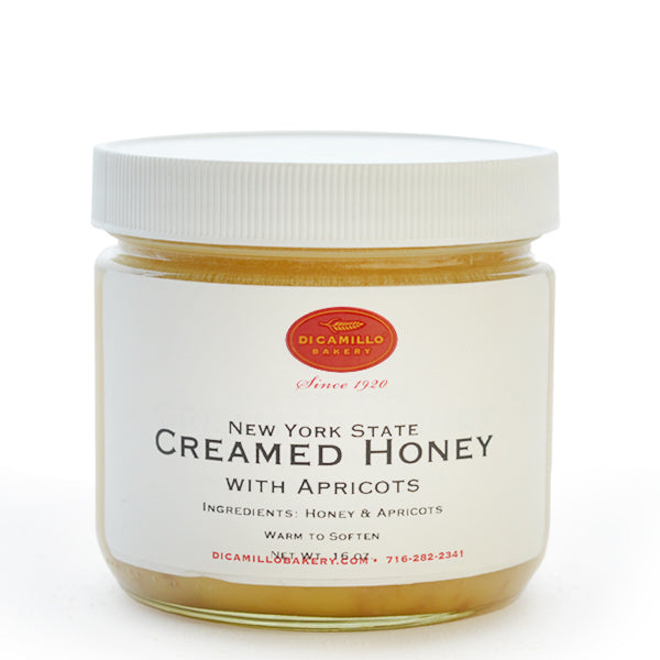 CREAMED APRICOT HONEY - CENTRAL NEW YORK