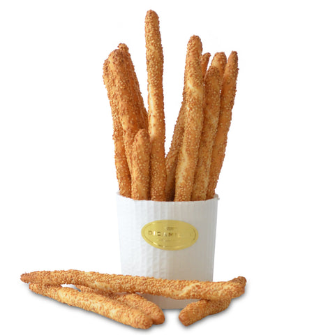 Filoncini Rustici al Sesamo Breadsticks (Breadsticks with Sesame and Olive Oil)