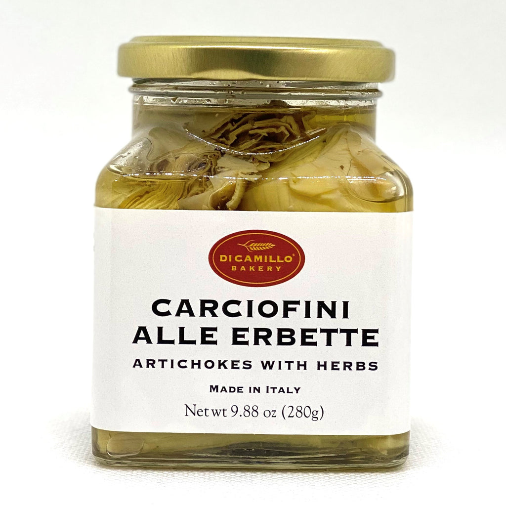 ARTICHOKES WITH HERBS