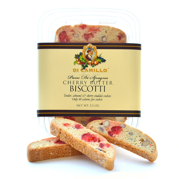 CHERRY ALMOND BUTTER BISCOTTI