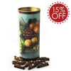CHOCOLATE BISCOTTI DI PRATO® FRUIT CANISTER - 6 PACK