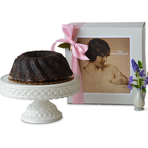 CHOCOLATE ALL BUTTER BUNDT POUND CAKE