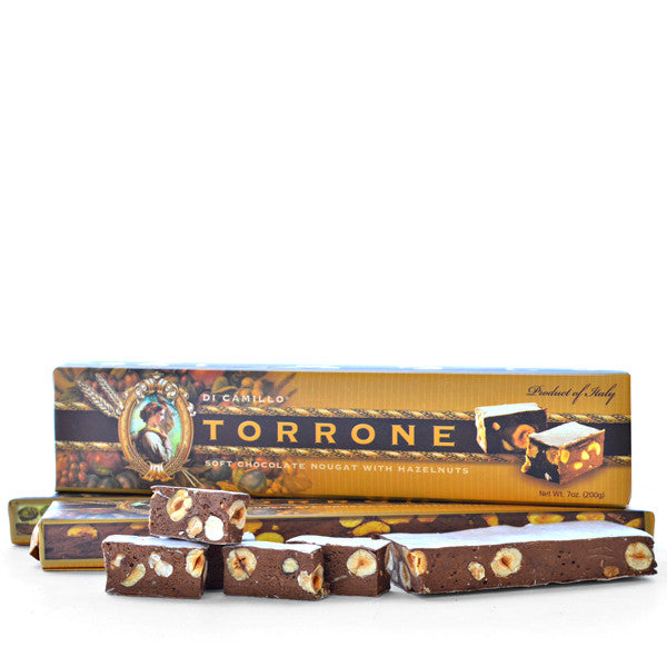 SOFT CHOCOLATE TORRONE WITH FREE PANETTONE