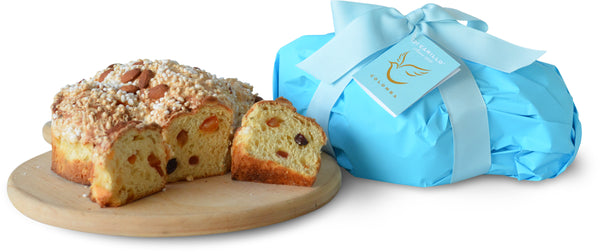 COLOMBA CAKE - TEAL WRAPPED