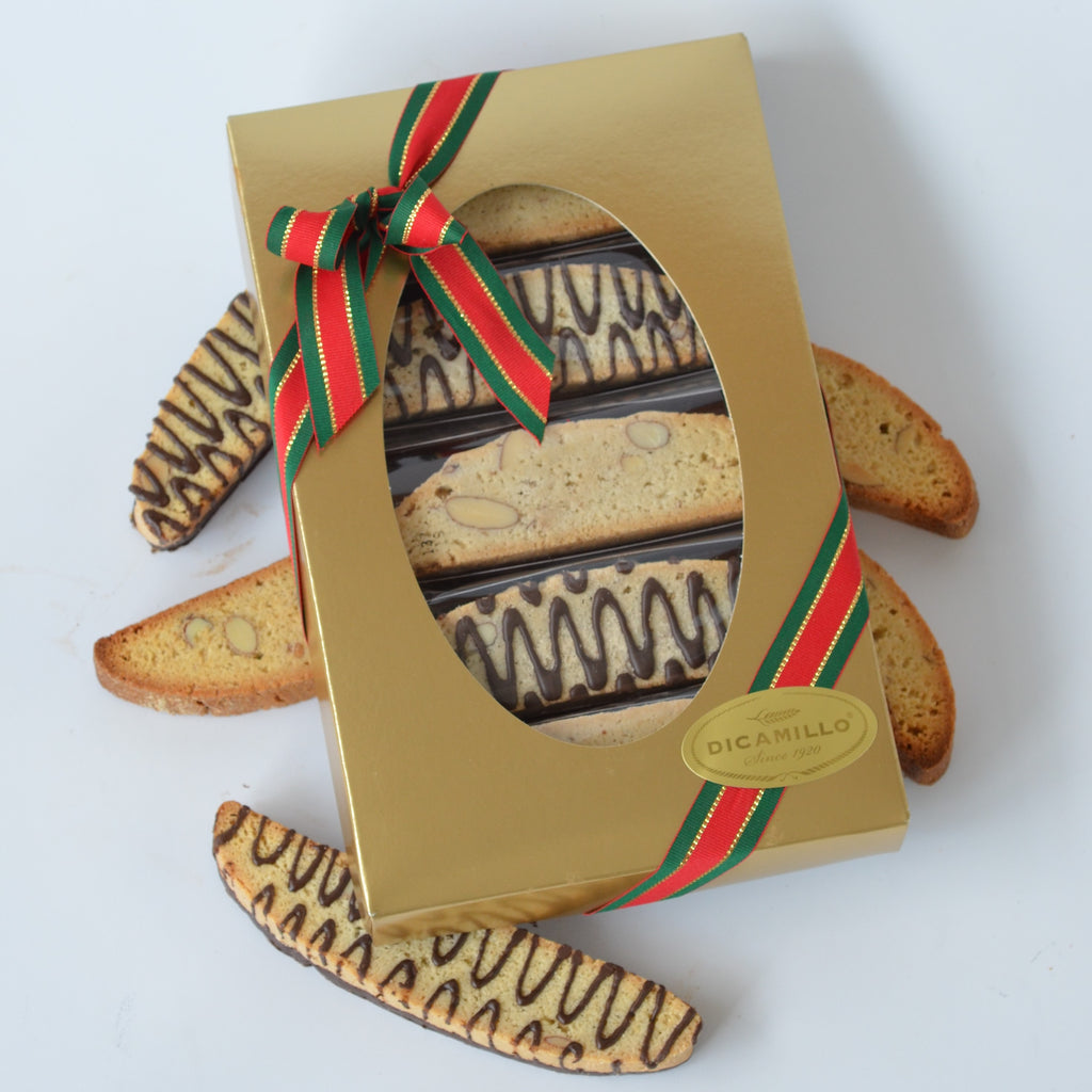 Gold Biscotti Window Box