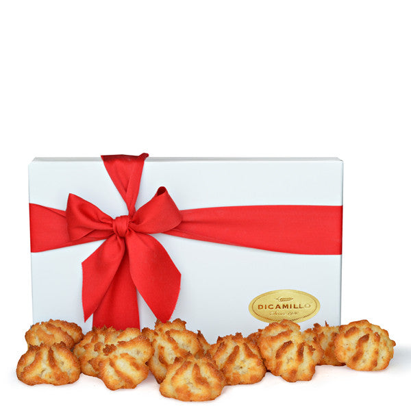 WHITE COCONUT MACAROON BOX