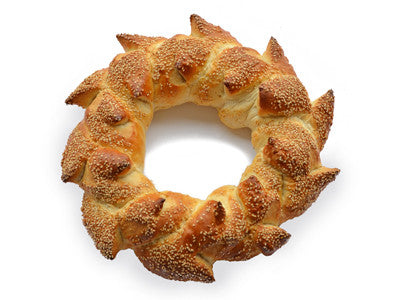 ST. JOSEPH'S DAY LARGE CROWN BREAD