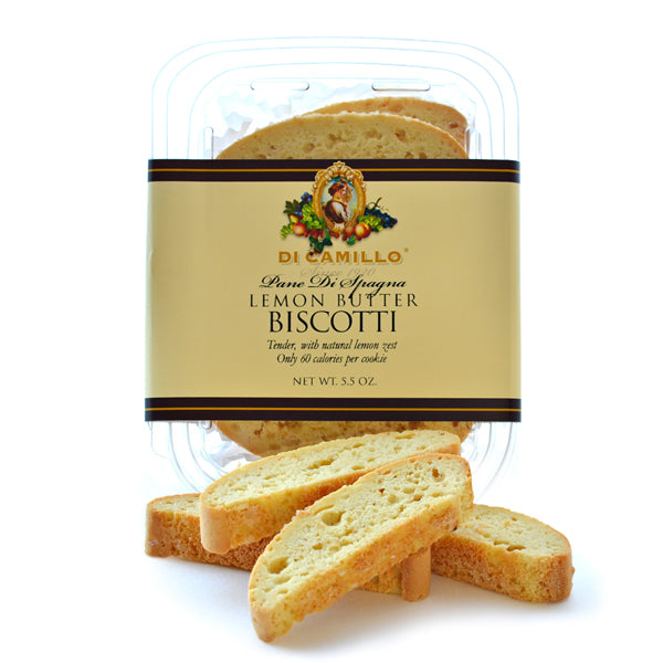 LEMON ALMOND BUTTER BISCOTTI