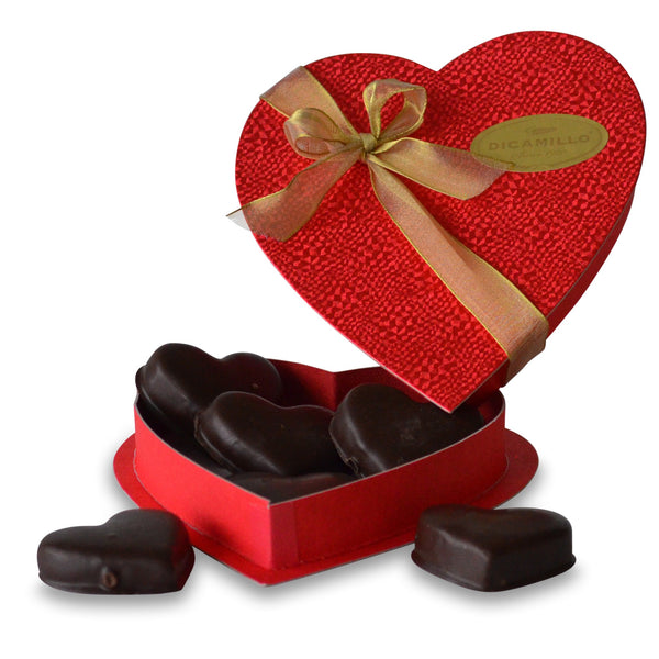 MEDIUM CHOCOLATE COVERED SHORTBREAD HEARTS