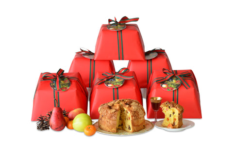 RED WRAPPED PANETTONE 6-PACK