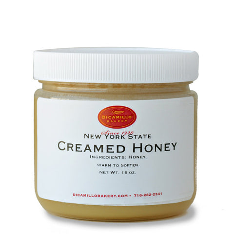 CREAMED PLAIN HONEY - CENTRAL NEW YORK