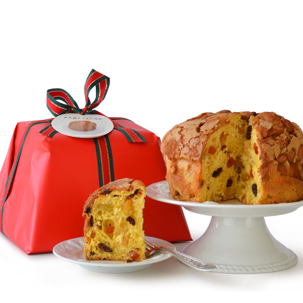 RED WRAPPED PANETTONE