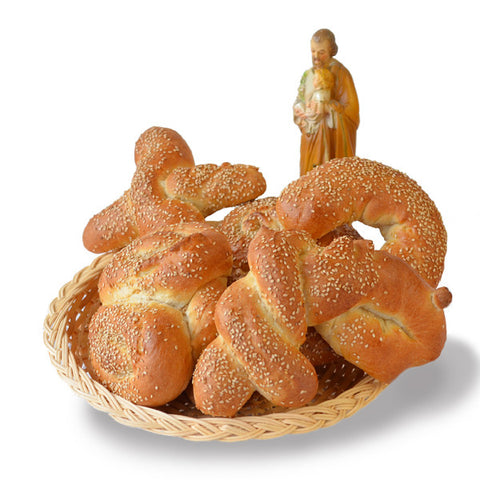 SAINT JOSEPH'S DAY BREAD BASKET 5-PACK