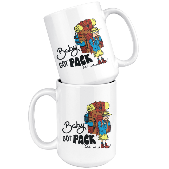 Baby Got Pack - Mug - Broad Masters, Inc.