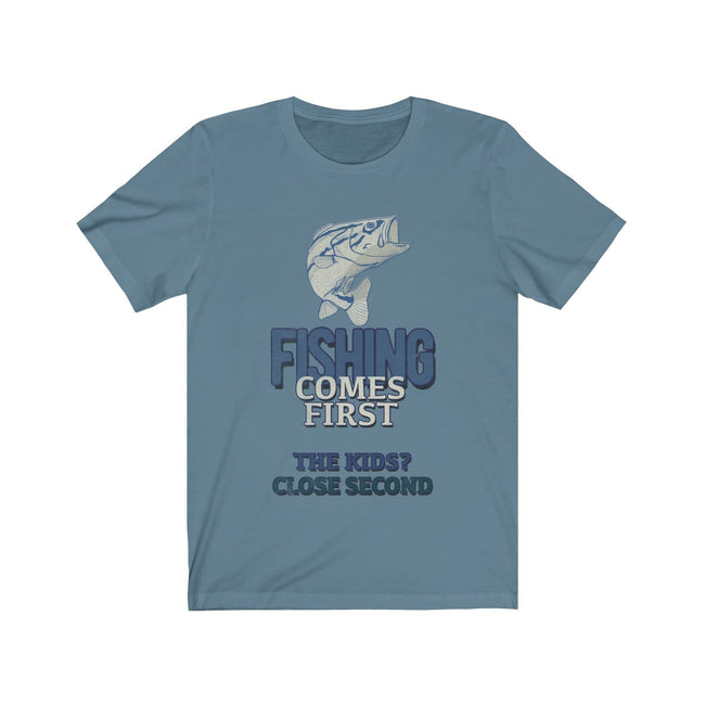 FISHING COMES FIRST - Broad Masters, Inc.