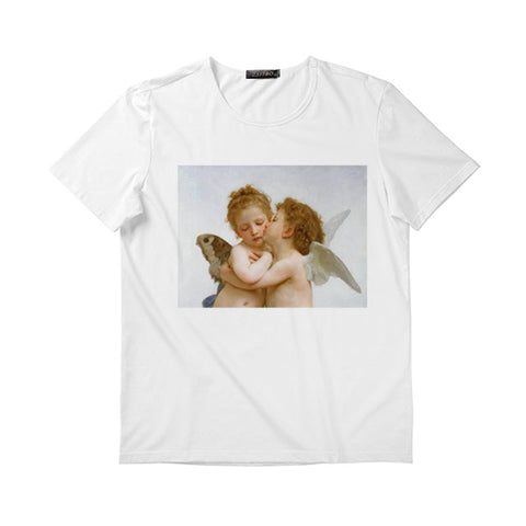 Angel Printed T-Shirt - Carpe Item