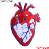 Anatomical Heart Patches - Carpe Item