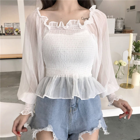 Bubbled blouse - Carpe Item