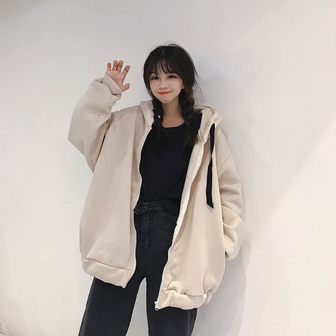 """Tragic Youth"" oversized coat - Carpe Item"