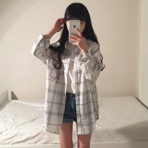 Plaid shirt jacket - Carpe Item