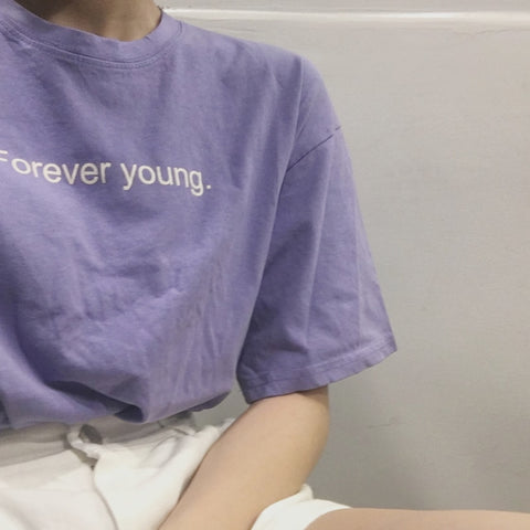 """Forever Young"" T-Shirt - Carpe Item"