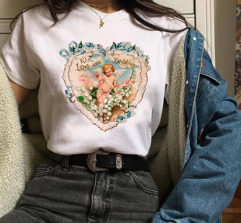 Angel Heart T-Shirt - Carpe Item
