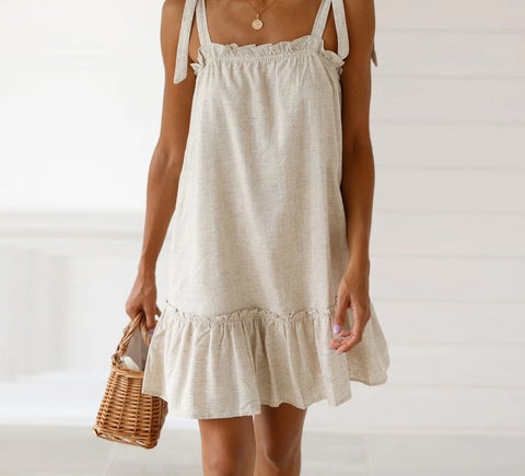 White summer dress - Carpe Item