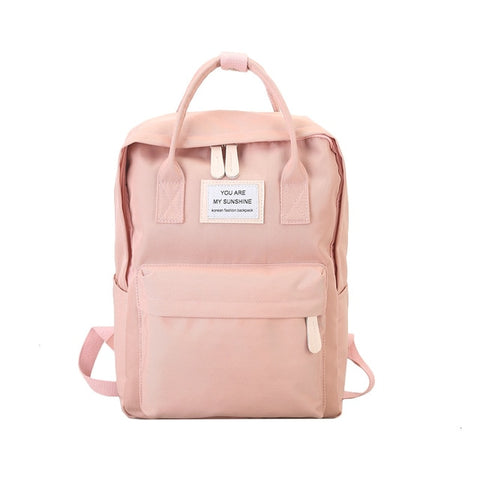 School Canvas Backpack - Carpe Item