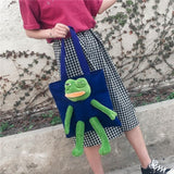 Sad Frog Handbag - Carpe Item