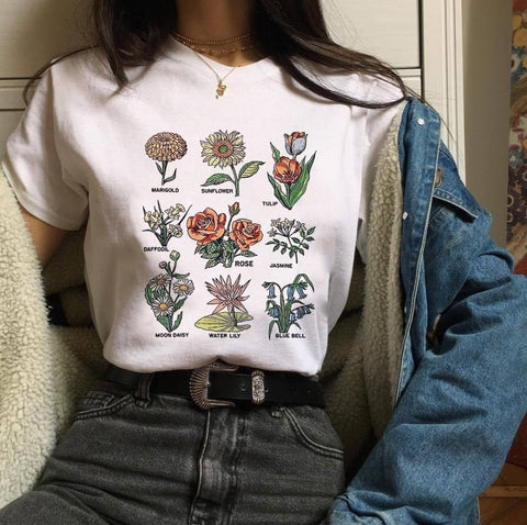 Wildflower T-shirt - Carpe Item