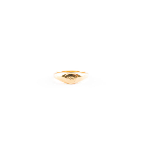 FUN Signet Ring - Gold