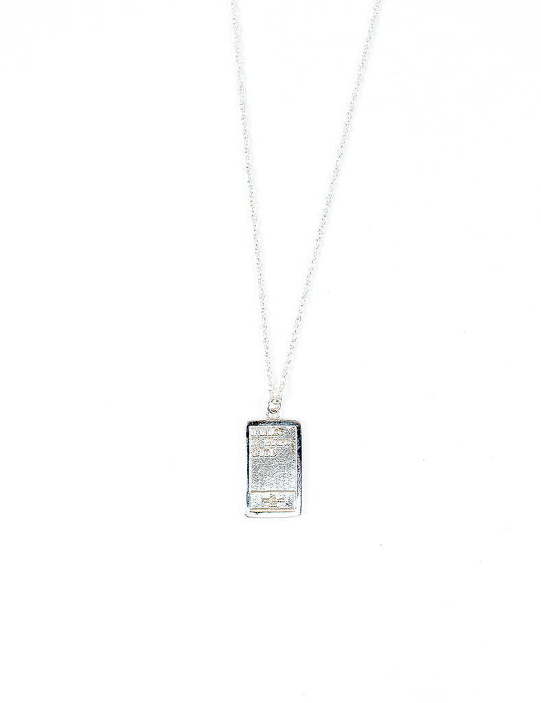 Solid Ingot Necklace