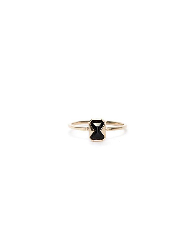 The Muse Black Spinel Ring