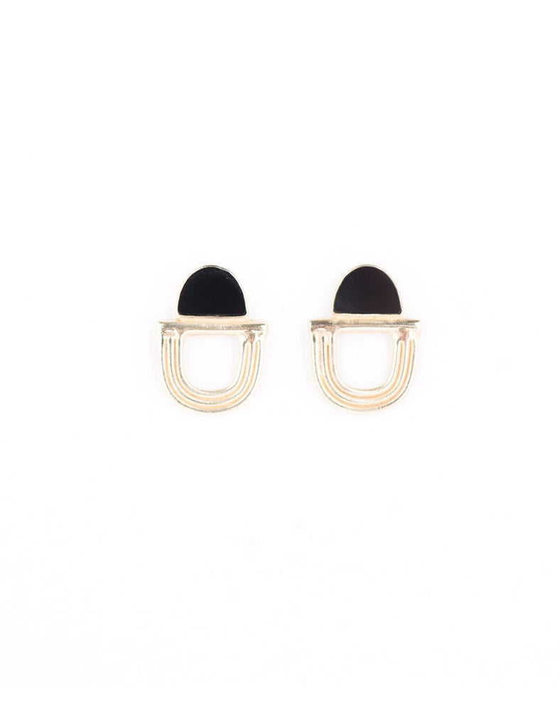 Overture Black Onyx Earrings