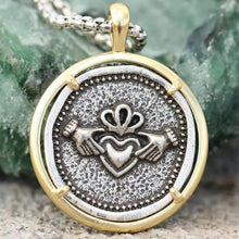 Load image into Gallery viewer, Claddagh Necklace