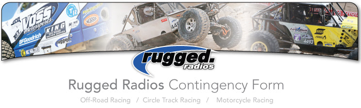 Rugged Radios Race Contingency