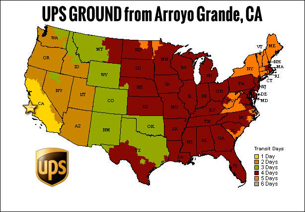 Rugged Radios UPS Ground
