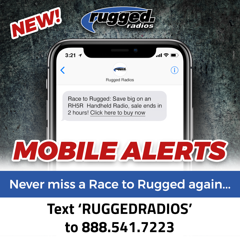 Rugged Radios Mobile Alerts