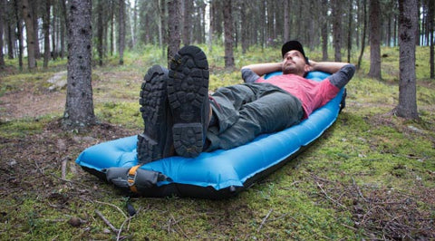 Windcatcher AirPad 2 sleeping pad in forest