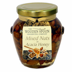 Mixed Nuts & Acacia Honey in a Gift Jar